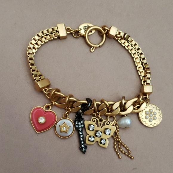 Juicy Couture Jewelry - Juicy Couture Butterfly Charm Bracelet